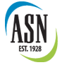 logo for american society of nutrition