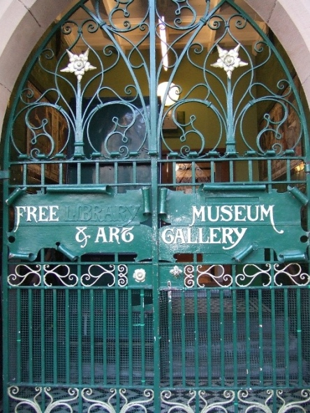 Gate of Blackburn Museum and Art Galley