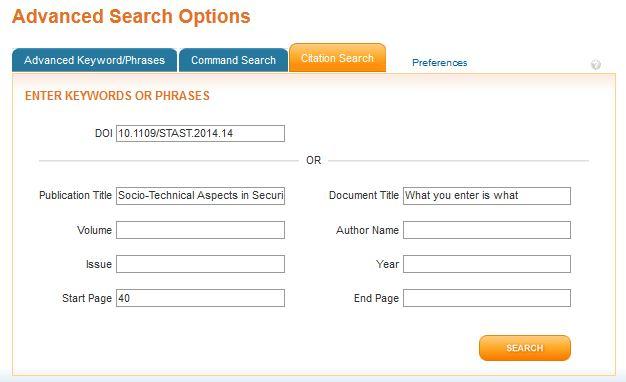 Advanced Search - IEEE Xplore (English) - LibGuides at