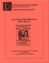 Image of Locating Presidential Documents research guide