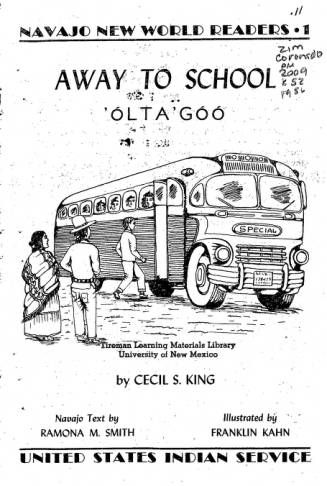 "Digital collection of ""Away to School"" by Cecil S. King"