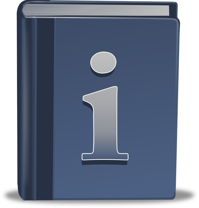 Information book icon