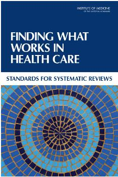 Finding what works in health care book cover
