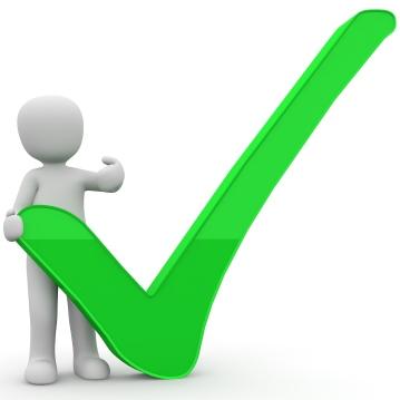 Green Tick [Image source: Pixabay, https://pixabay.com/en/download-successful-tick-expert-1013983/, copied under CC0 1.0, https://creativecommons.org/publicdomain/zero/1.0/deed.en]