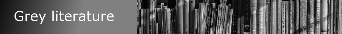 Navigate to the Library's grey literature research guide
