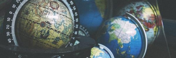 Image of world globes
