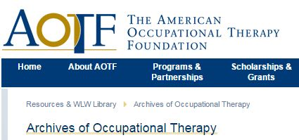 American Occupational Therapy Foundation logo