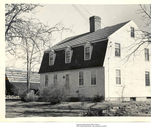 An old house in Essex from the W.P.A. Architectural Survey