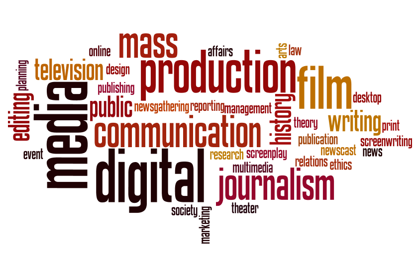 Mass Communication wordle