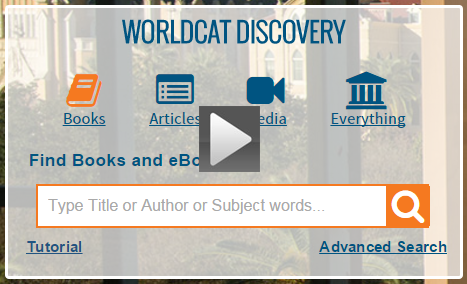 How to Search in WorldCat Discovery