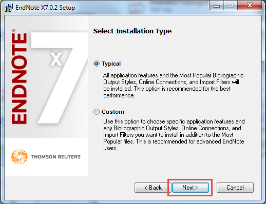endnote software  for windows 7