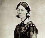 Profile of Florence Nightingale from the Health Science Library's Florence Nightingale Letters collection'