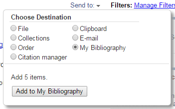 Preferred Documents