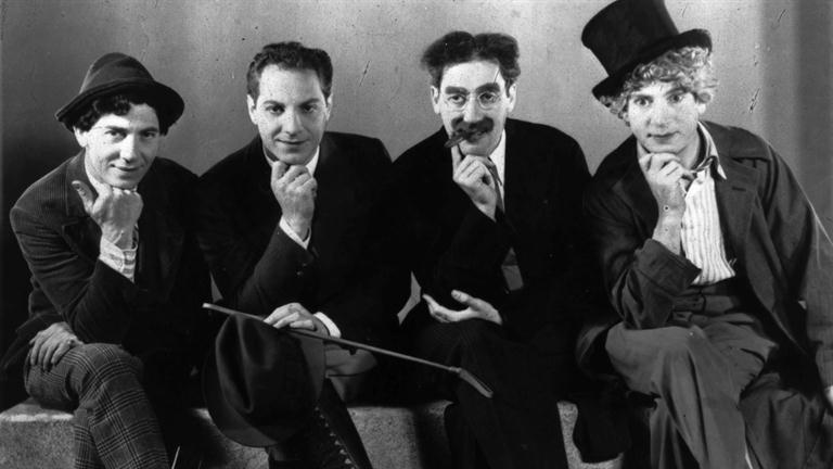 Photo of the Marx Brothers