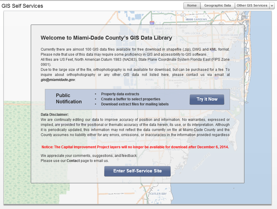 Research - Miami-Dade County GIS Data Resources - FIU