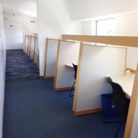 individual study desks