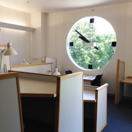 clock study room