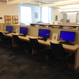 Reference area computers