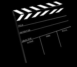 movie clap board