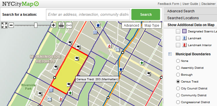 Doitt Nyc Map.Real Estate In Nyc Real Estate Research Guide Research Guides At