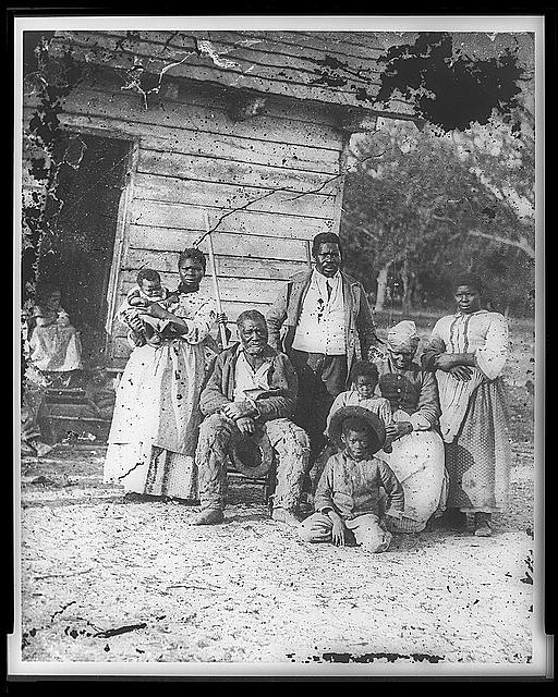 Family of African American Slaves in South Carolina