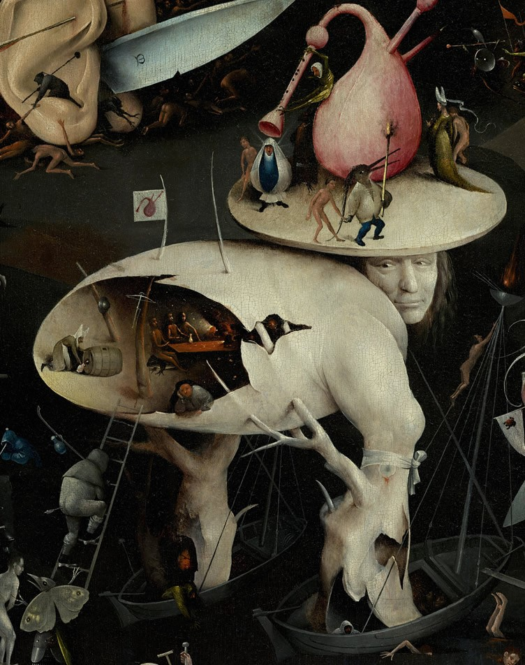The Garden of Earthly Delights painting by Hieronymus Bosch