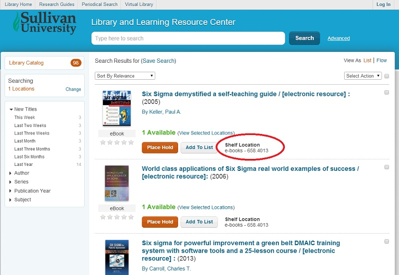 Searching the Library's Online Catalog - Books 24x7 - Research
