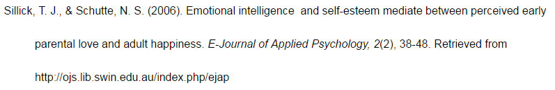 B Journal Article With 2 Authors Apa Citation Style 6th
