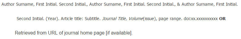 C Journal Article With 3 5 Authors Apa Citation Style 6th