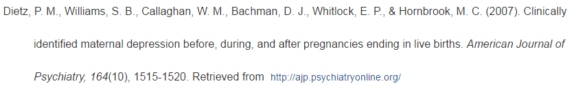 D Journal Article With 6 Or More Authors Apa Citation