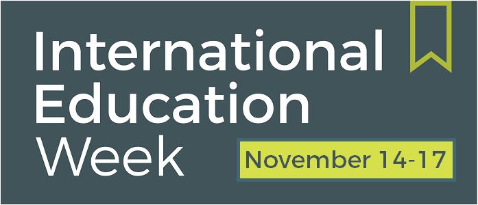 International Education Week is November 14-17, 2016