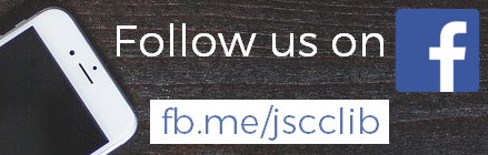 Follow us on Facebook at jscclib