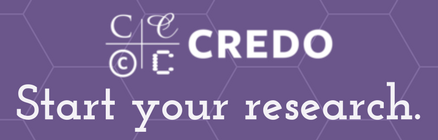 Start your research with Credo Reference
