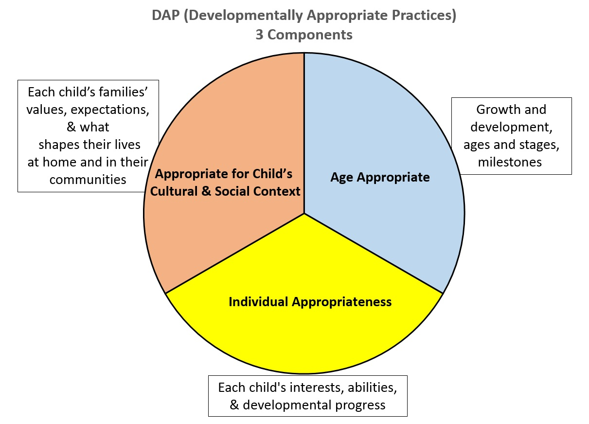 12 principles of developmentally appropriate practice