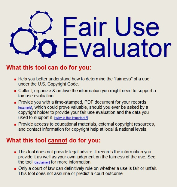 Fair Use Evaluator