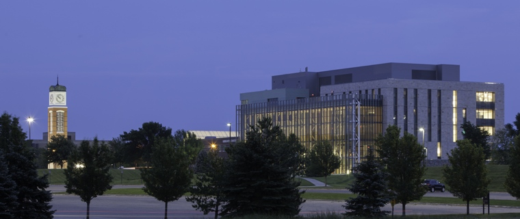 Mary Idema Pew Library and Cook Carillon Tower