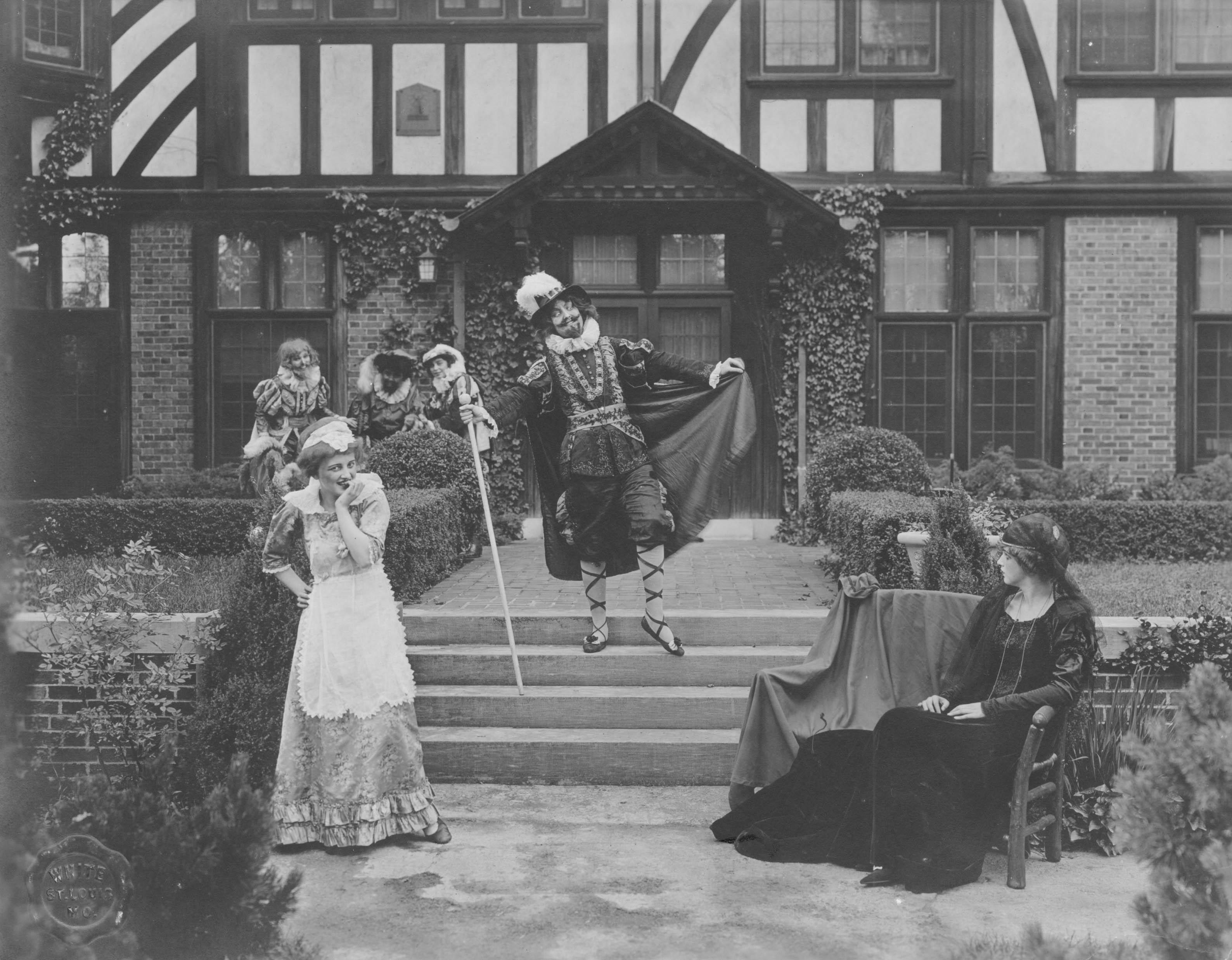Scene from Twelfth Night