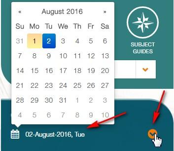 change dates