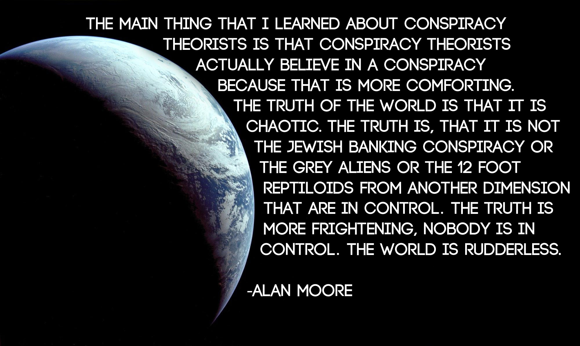 Conspiracy Theories - Subject of the Month - Research ...