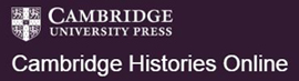 Cambridge Histories Online Logo