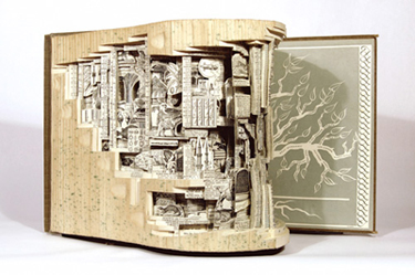 Photo of Book Art by Greta Scholtz