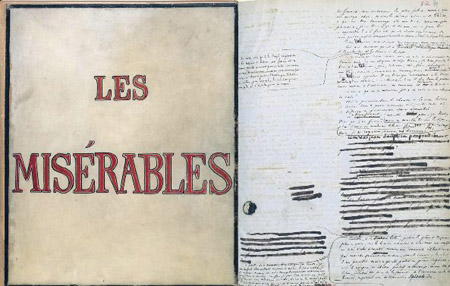 Les Miserables book from Europeana