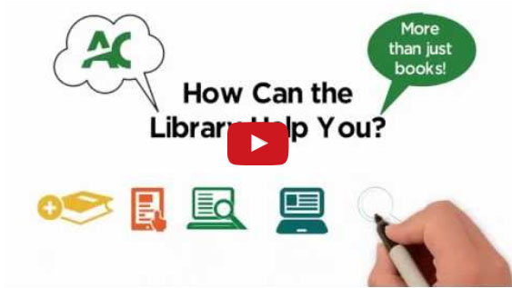 Video about how the library can help you