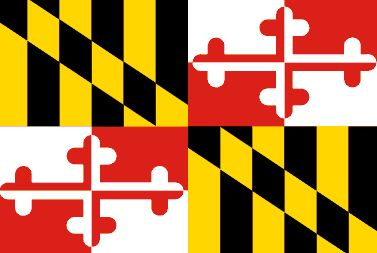 Maryland Flag (linked to MD government website)
