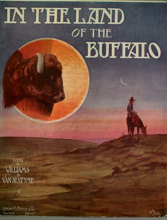 In the Land of the Buffalo sheet music
