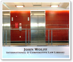 Wolff Law Library photo