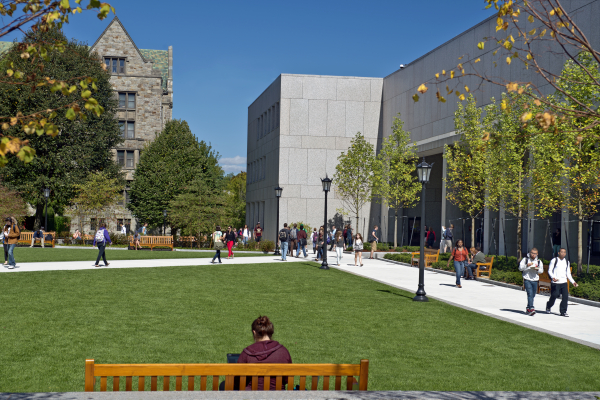 Boston College campus