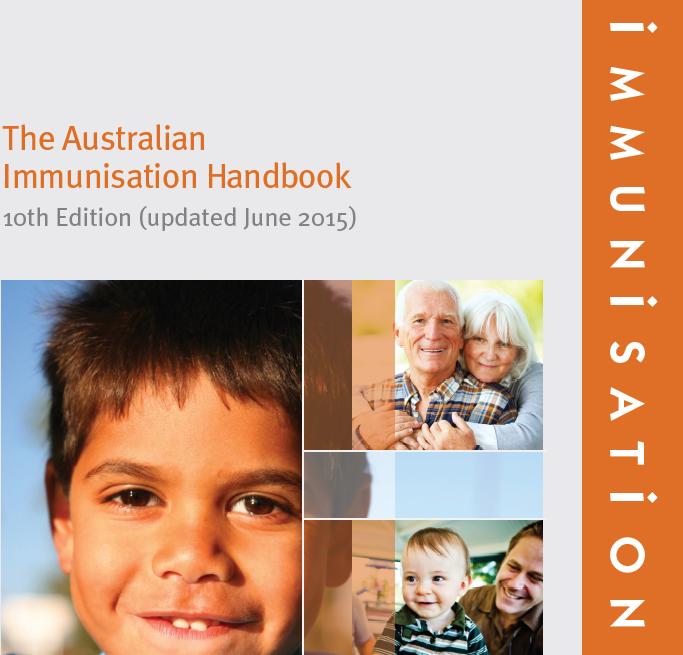 Australian Immunisation Handbook 2016