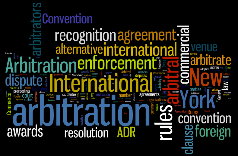 Introduction International Commercial Arbitration Research Guide