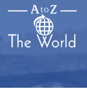 A to Z the world cover art